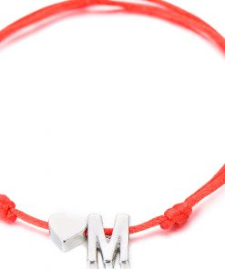 Bracelet for Couple with Personalized Initials