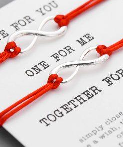 Eternity bracelets for couples